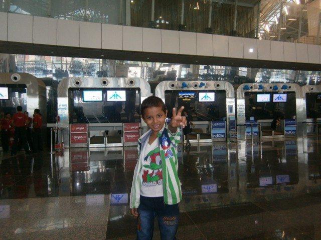 Shivam @ Indore Airport