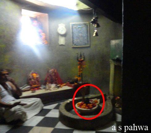 हजार वर्ष पुराना, शिवलिंग, ब्रह्म मन्दिर में