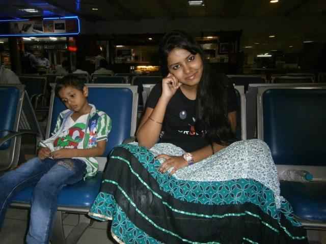 Waiting at Nagpur Airport