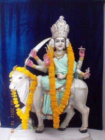 श्री राम मंदिर में स्थित अन्य देवी माँ