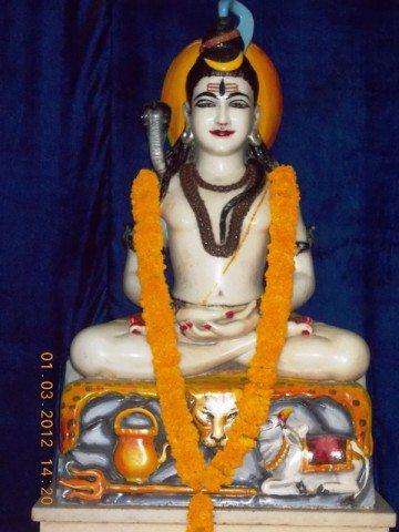 श्री राम मंदिर में स्थित भोले नाथ