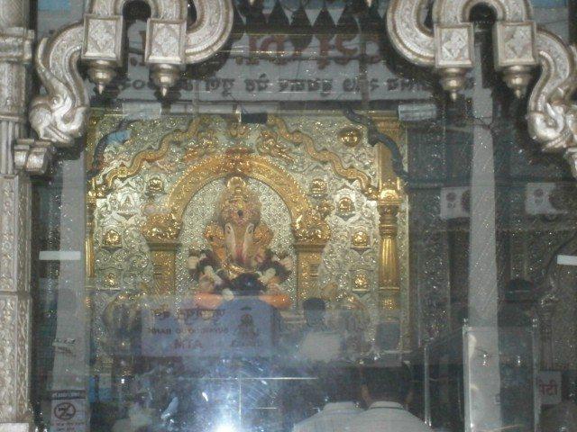 Shri Ganesh Idol in the temple