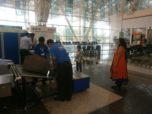 Luggage scanning