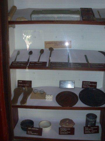 Some belongings of Mahatama Gandhi