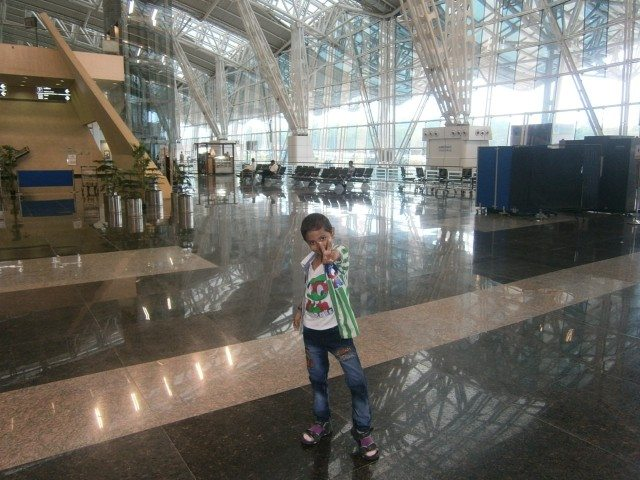 Sparkling Airport of Indore