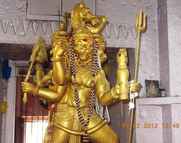 श्री बड़े गणेश मंदिर में स्थित श्री पंचमुखी हनुमान