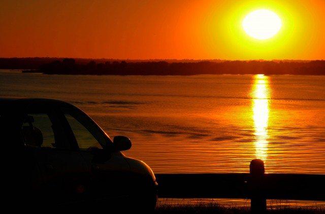 A sunset in Nebraska