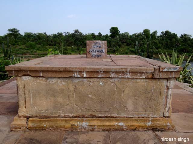 Chanderi Fort - Baiju Bawra Memorial