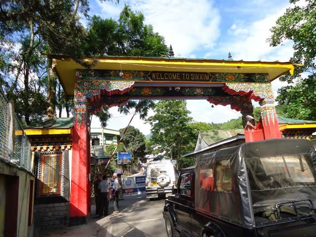सिक्किम प्रवेशद्वार