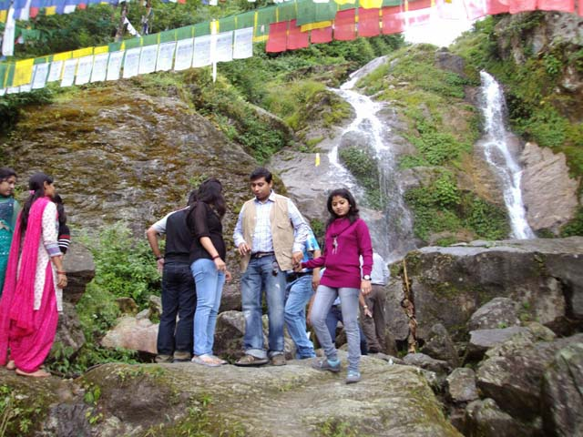 Bakthang Waterfalls