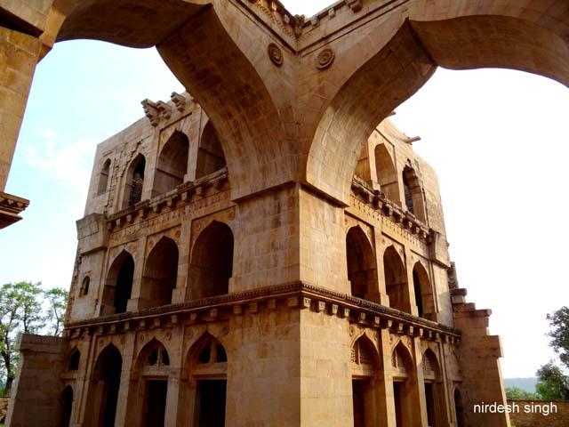 Koshak Mahal - One Quadrant of the Palace