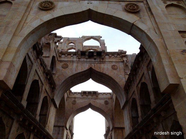 Kushk Mahal - Magnificient Arches