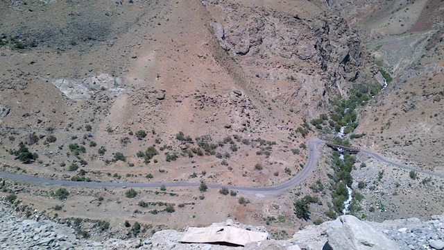 Road Drass to Kargil