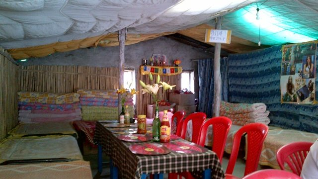 Tent Restaurant at Darcha
