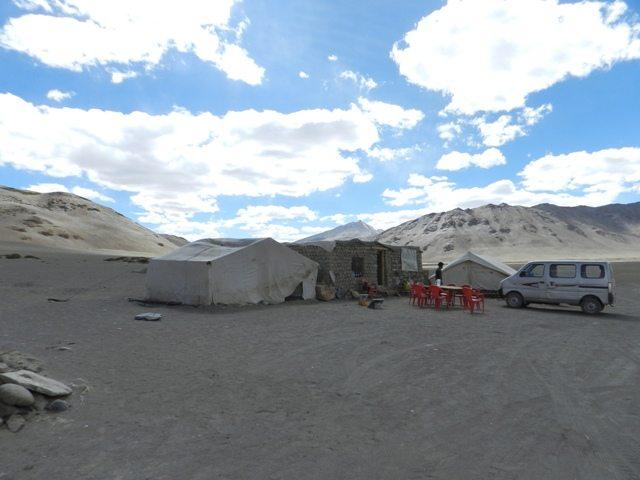 Tents at Pang