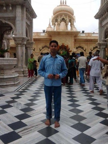 Me in temple