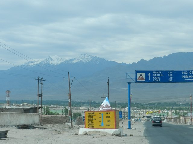 Way to Manali