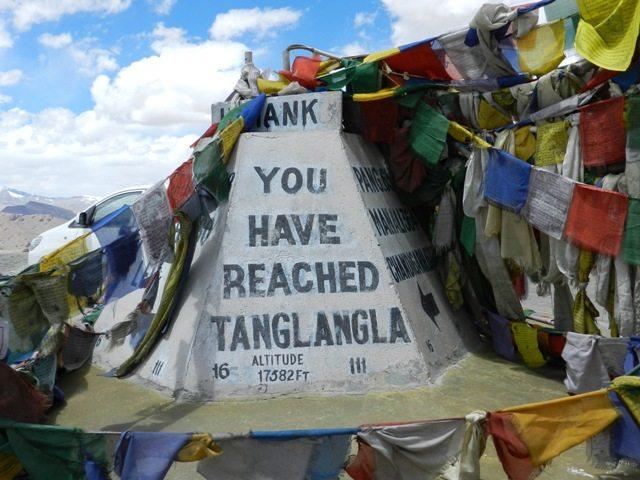 You have reached Taglang La