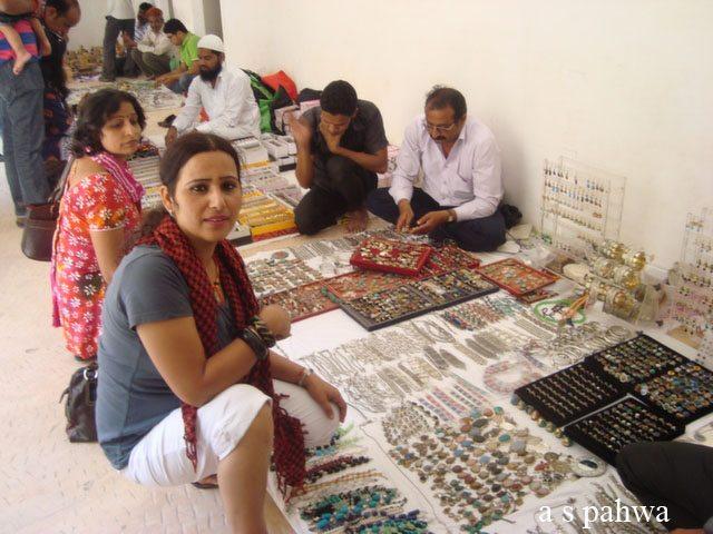 महिला वर्ग के लिये आमेर दुर्ग का सबसे आकर्षित स्थल, मीना बाज़ार