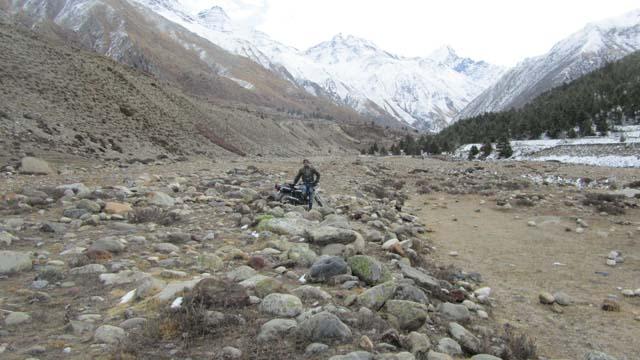 @Baspa River Side in Chitkul