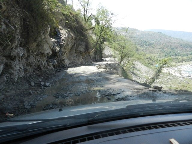 Bad Road Gwaldam-Karnaprayag