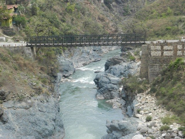 Bridge over River.Alaknanda