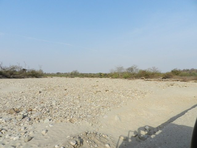 Dry & Arid River Bed