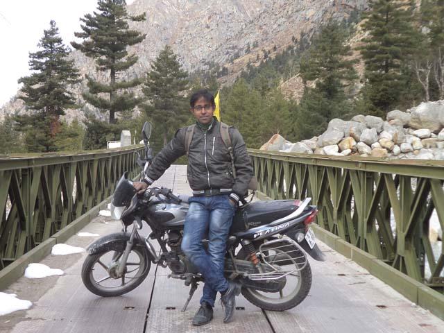 Exploring Chitkul village