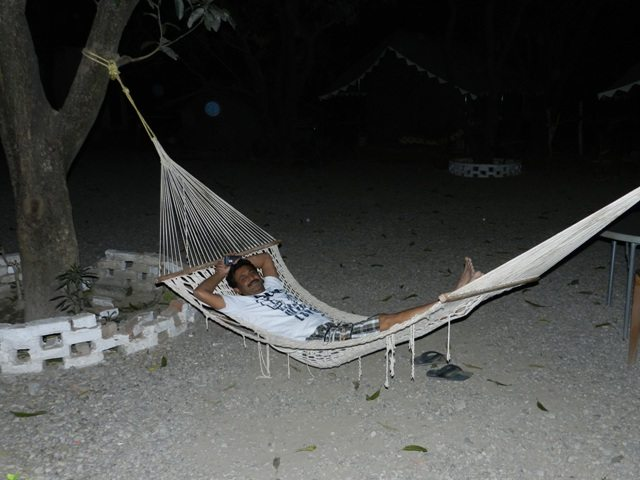 Hanging at Resort