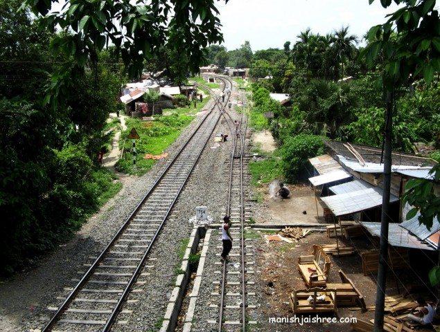 Narrow gauge trek for toy train to Darjeeling