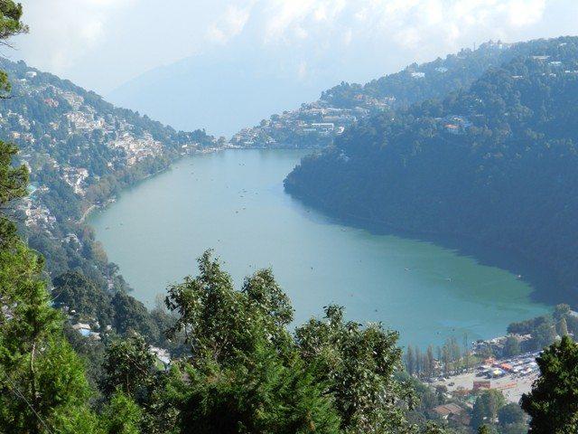 Nainital from Tiffin Top