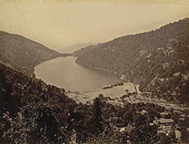 Nainital in 1885