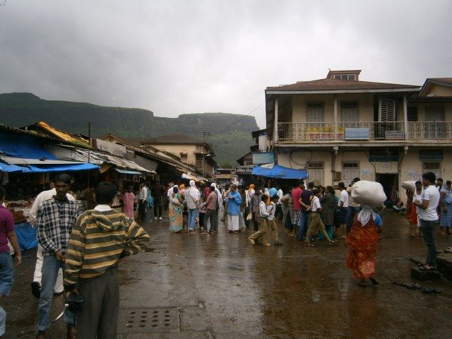Market at Tryambakeshwar...