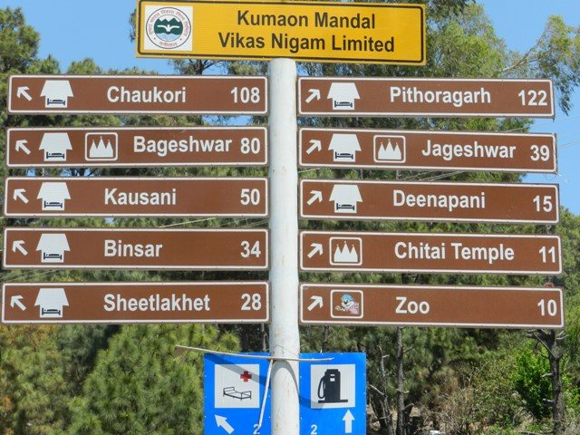 Places around Almora