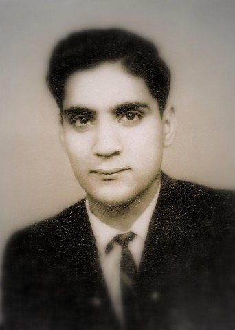 Ram Papa's Passport Photo from his youth