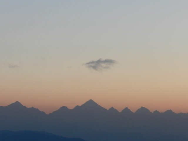 Range before Sun Rise