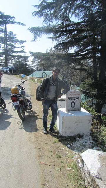 Reached Chail, About 70 KMs far from Shimla