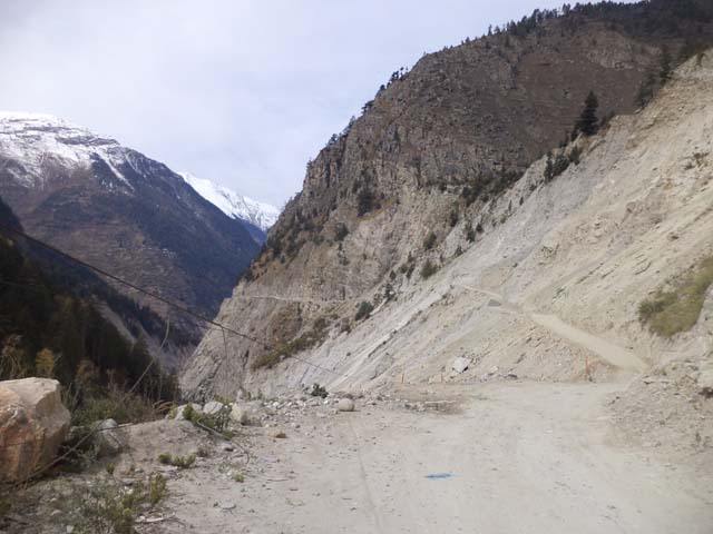 View! While returning from Chitkul