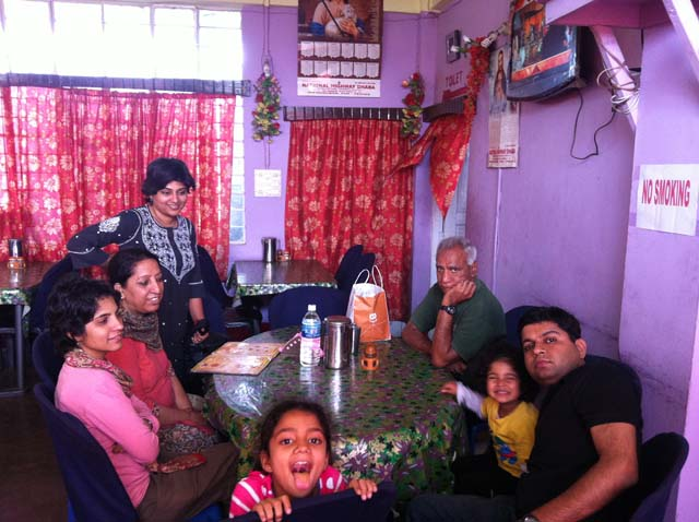 With Family on a trip to NorthEast in 2013