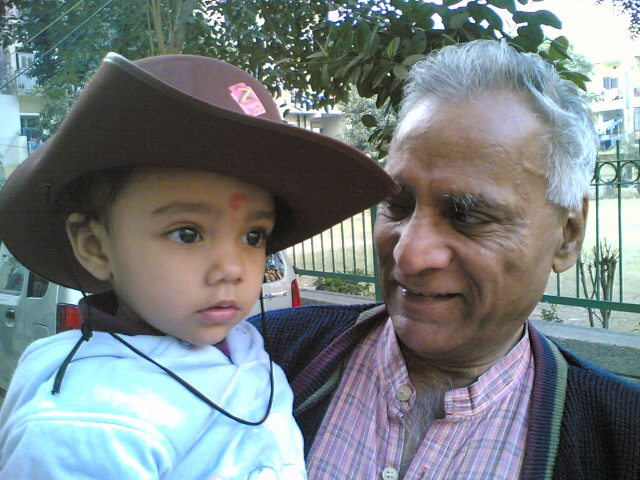 With Grand Daughter Pihu