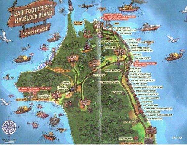 Havlok guide map