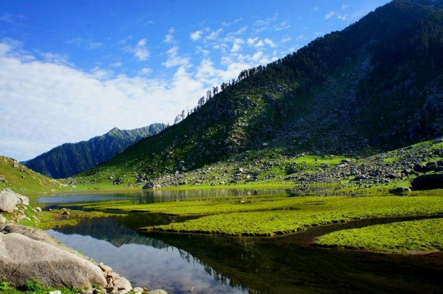 Kareri Lake…reflections testify the purity of the water