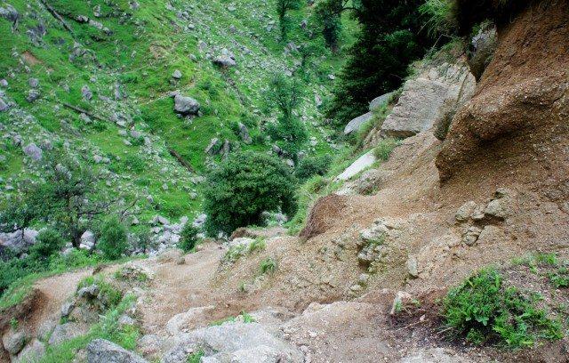 A treacherous pathway