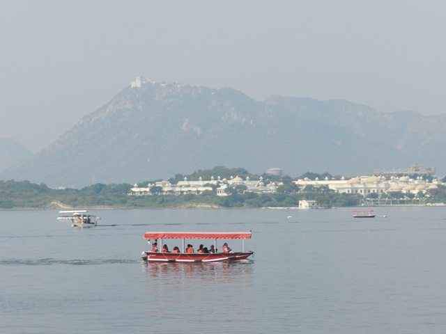 Boating in Pichola Lake