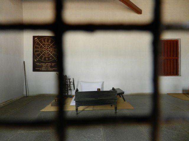 Gandhiji's living room