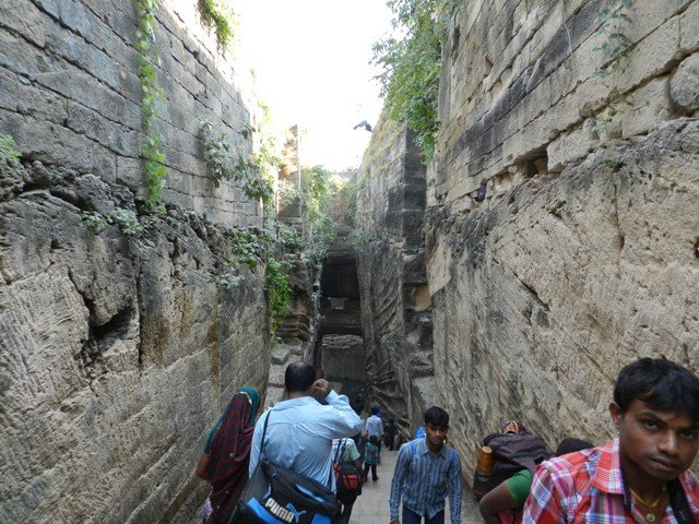 Inclined path to Ari Chadi Vav
