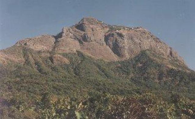 Mt. Girnar Face