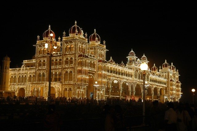 Mysore during Dussera