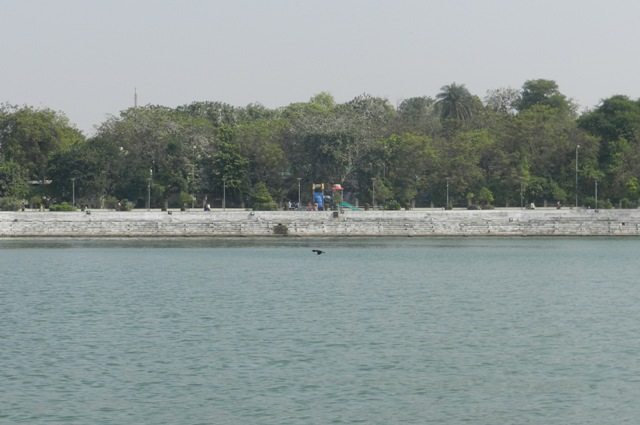 Normal view of Kankaria Lake