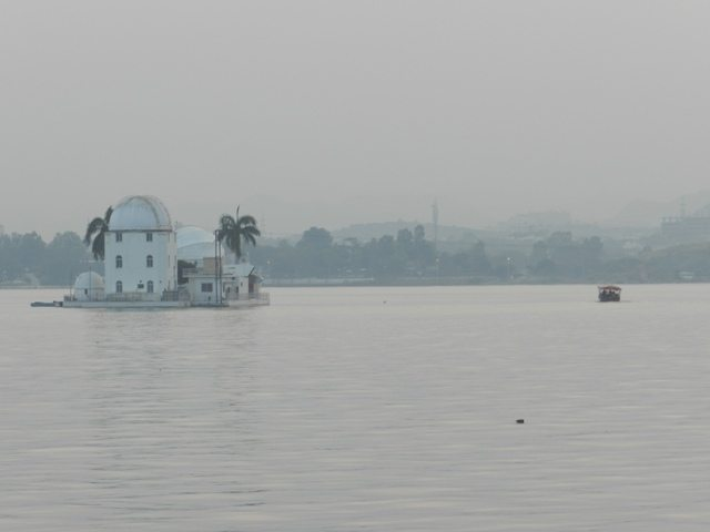 Observatory at Fatehsagar Lake